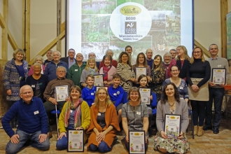 Our Wildlife Heroes group in January 2020