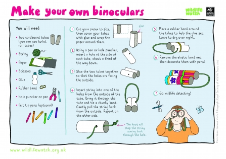 instructions for making binoculars