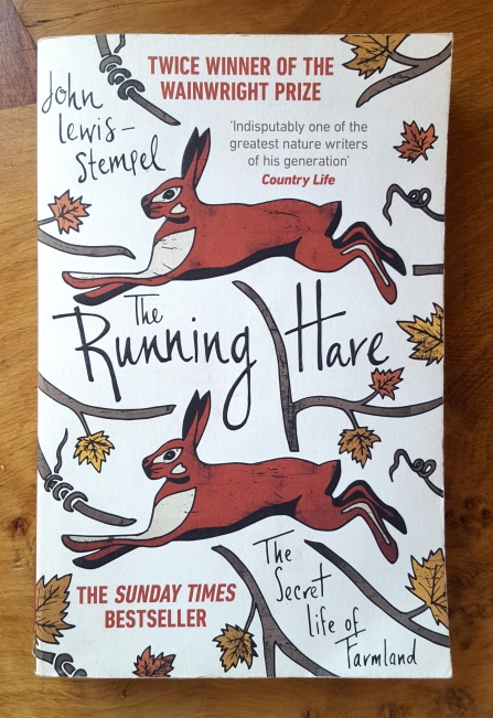 Cover of 'The Running Hare' book by John Lewis-Stempel
