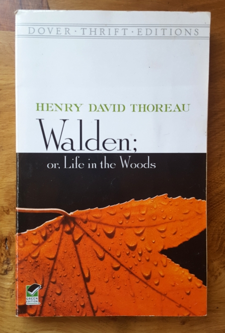 Cover of 'Walden; or, Life in the Woods' by Henry David Thoreau