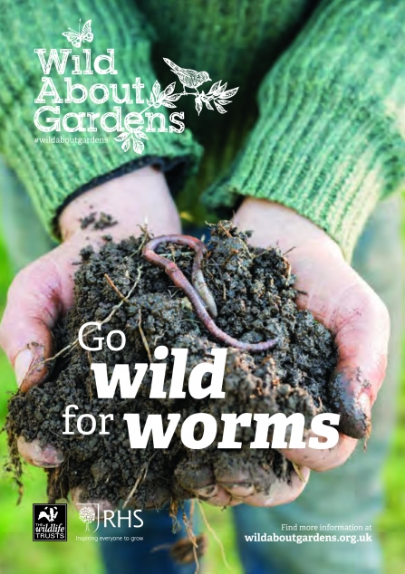 Wild About Gardens - Go Wild for Worms front cover