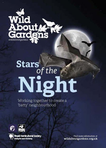 cover of Wild About Gardens - bats booklet